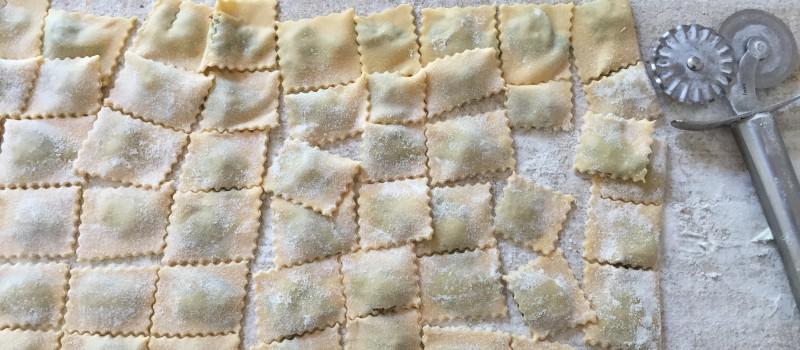 """Agnolotti ripieni di carne,formaggio e verdura""""Ristorante Magda"""""""