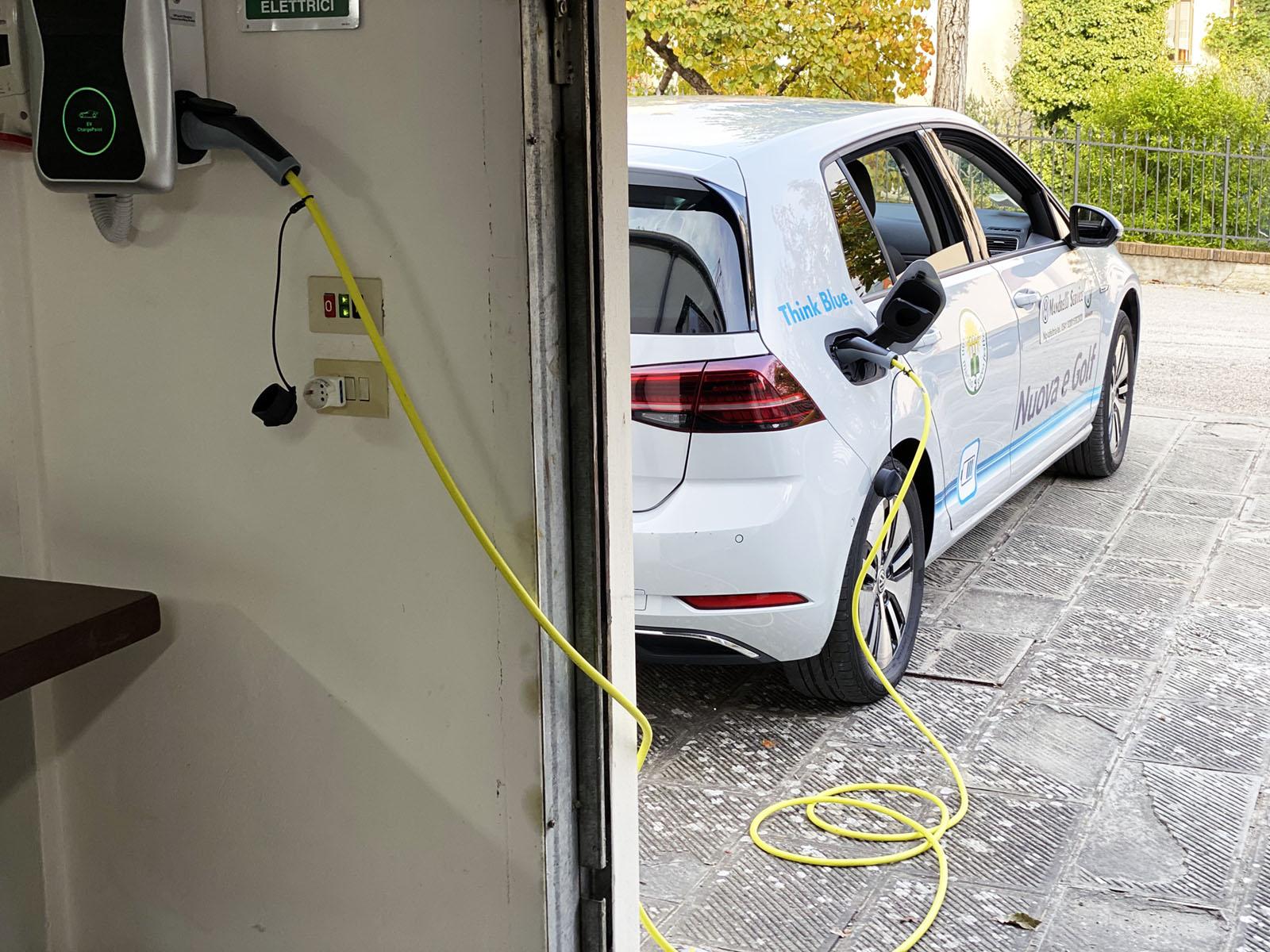 Colonnina di ricarica per veicoli elettrici e ibridi plug-in